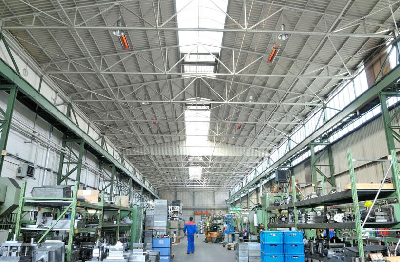 площадь цеха большая и позволяет произвести некоторую перепланировку термобелья